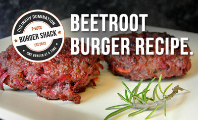 Beetroot Burger Recipe | High Protein, Low Carb, Physique Boss