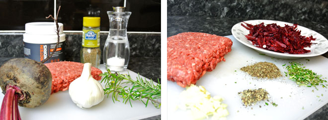 Physique Boss Beetroot Burger Recipe Ingredients