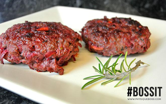 Beetroot Burger Recipe | Physique Boss