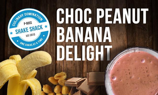 Choc Peanut Banana Delight | Protein Shake Recipe