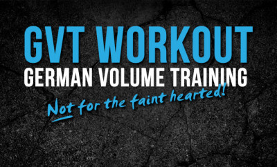 GTV Workout | German volume training physique boss