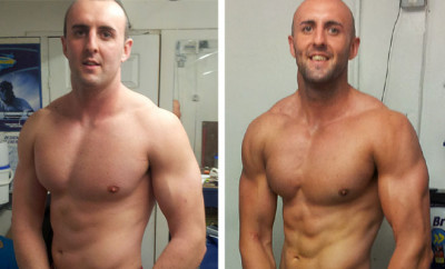 Mike Collins Body Transformation