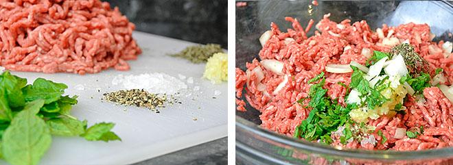 Lamb & Mint high Protein Burger recipe   Physique Boss