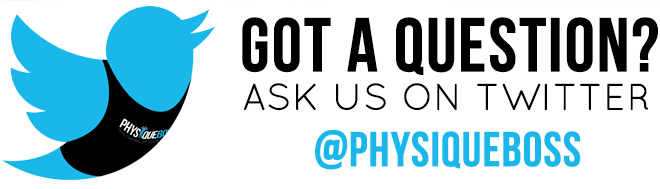 Ask us a question | Physique Boss