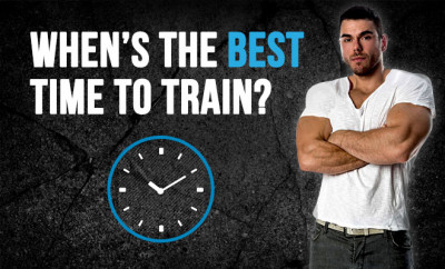When is the best time to train?